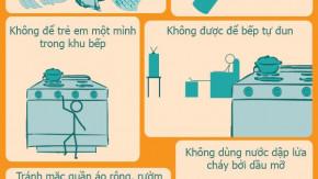 An toàn trong nhà bếp [Infographics]